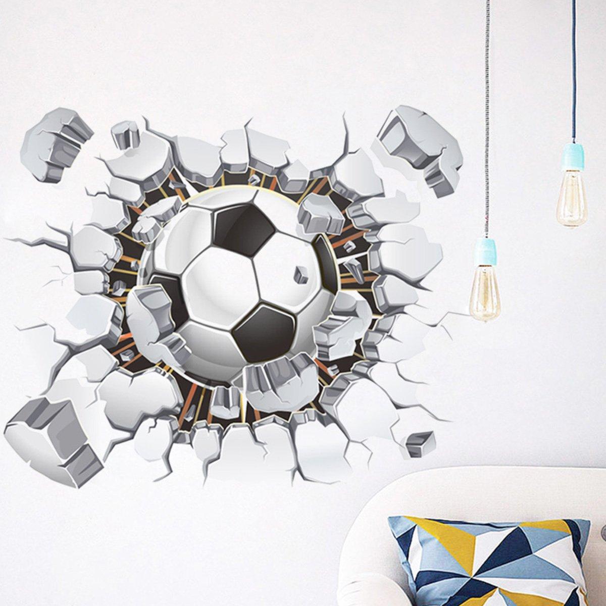 Vinilo Decorativo Pared [7F89855X] futbol