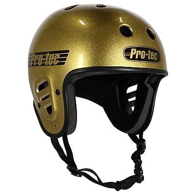 Pro-Tec PROTEC FULLCUT Gold Flake-M Helmet : Sports & Outdoors