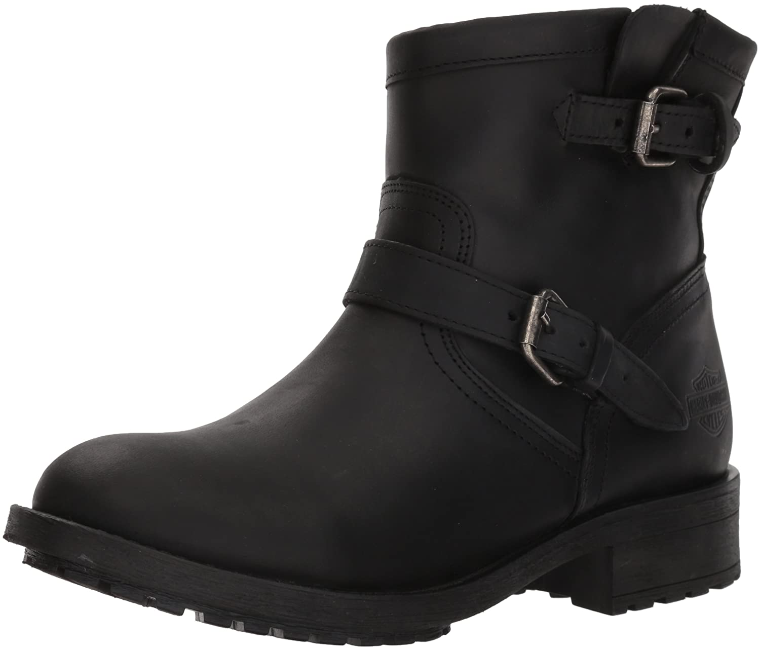 Harley-Davidson Women's Allerton Ankle Boot B07856JM5L 05 Medium US|Black