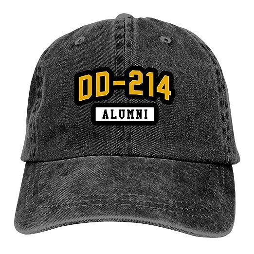 9a366fb8e Baseball Cap DD 214 Alumni Vintage Washed Trucker Cap Dad Hat Black ...