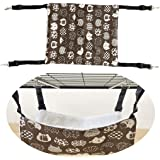 JISTL Cat Hammock Comfortable Bed Hanging The Pet Cage,Soft Warm Pet Bed Sleeping for Kitten,Ferret,Puppy,Rat,Rabbit or…