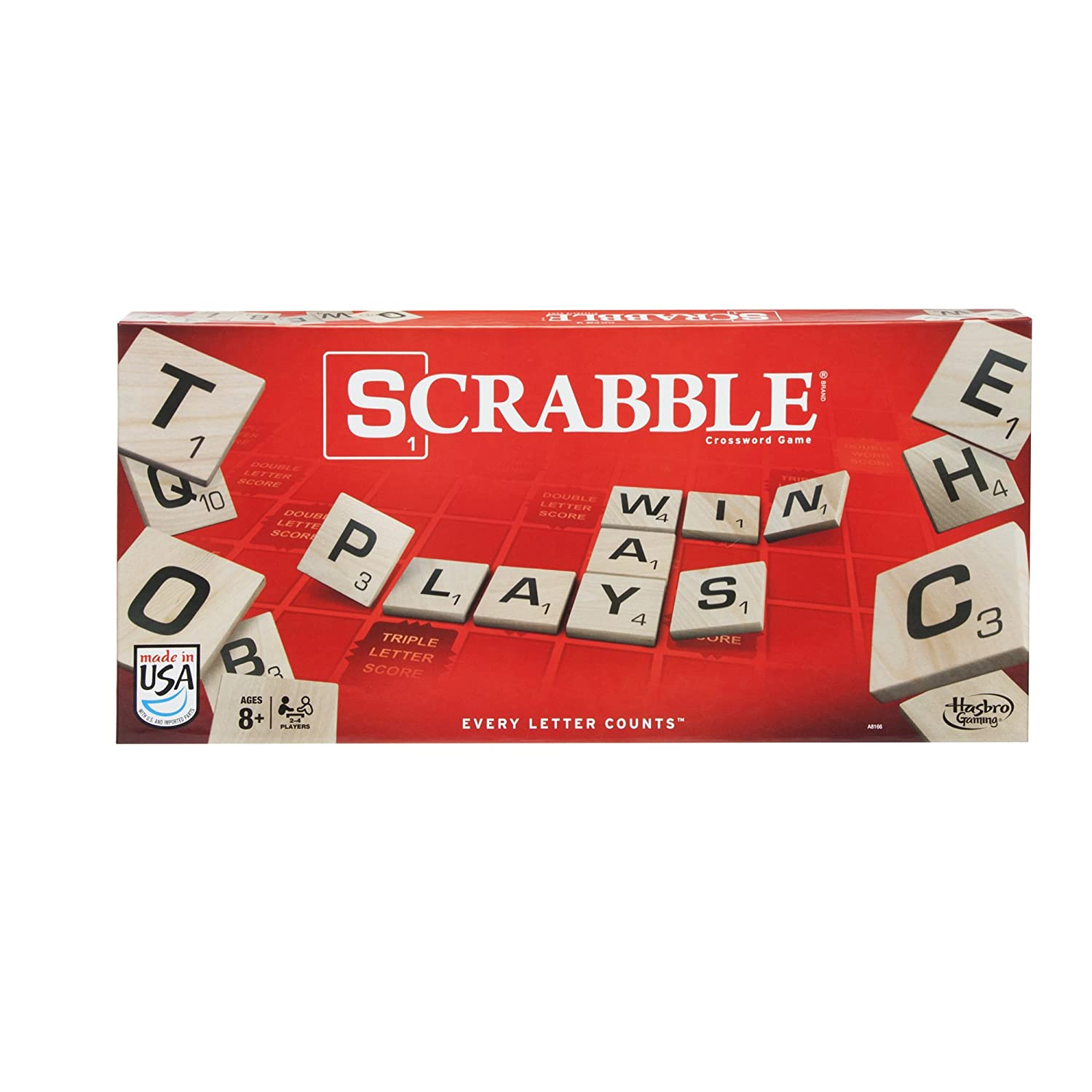 Hasbro Scrabble Crossword Game...