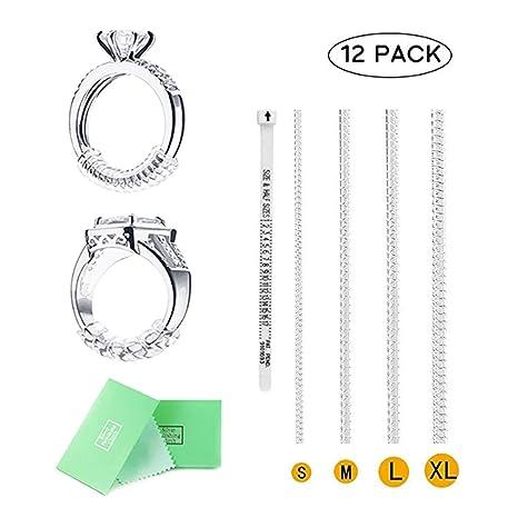 cce8751f2a6f Anillo de ajuste de tamaño para anillos sueltos