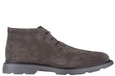 Hogan Men s Polacchine Stivaletti Scarpe Uomo Pelle Nuovo Rout Boots ... ff59dee0aa0