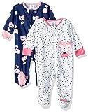 Gerber Baby Girls' 2-Pack Sleep 'N Play, Fox, 3-6