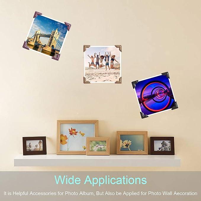DIY Accessories Picture Frame Paper Corner Sticker Self-Adhesive Photo Albums