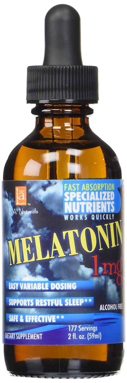 Amazon.com: L A NATURALS Melatonin 1 mg, 0.02 Pound: Health ...