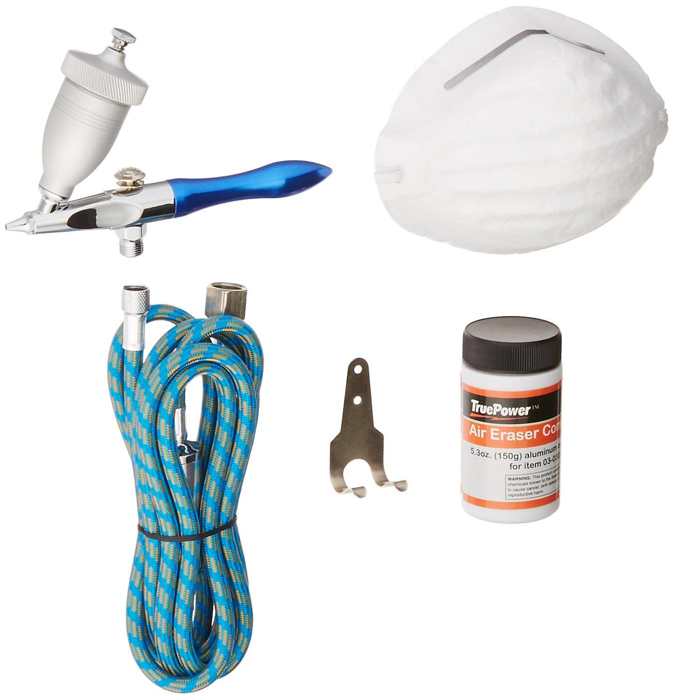 TruePower Air Eraser, Airbrush Sandblaster, Abrasive Sprayer and Glass Etcher Kit Gino Development Inc. 03-0302