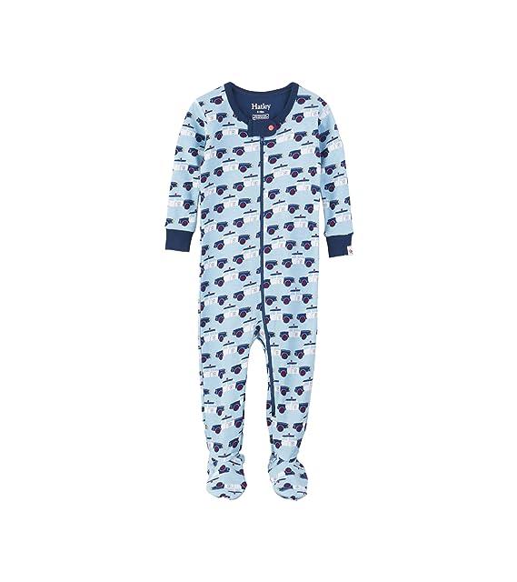 225b108391 Hatley Boys Organic Cotton Footed Sleeper Pajama Set  Amazon.ca ...