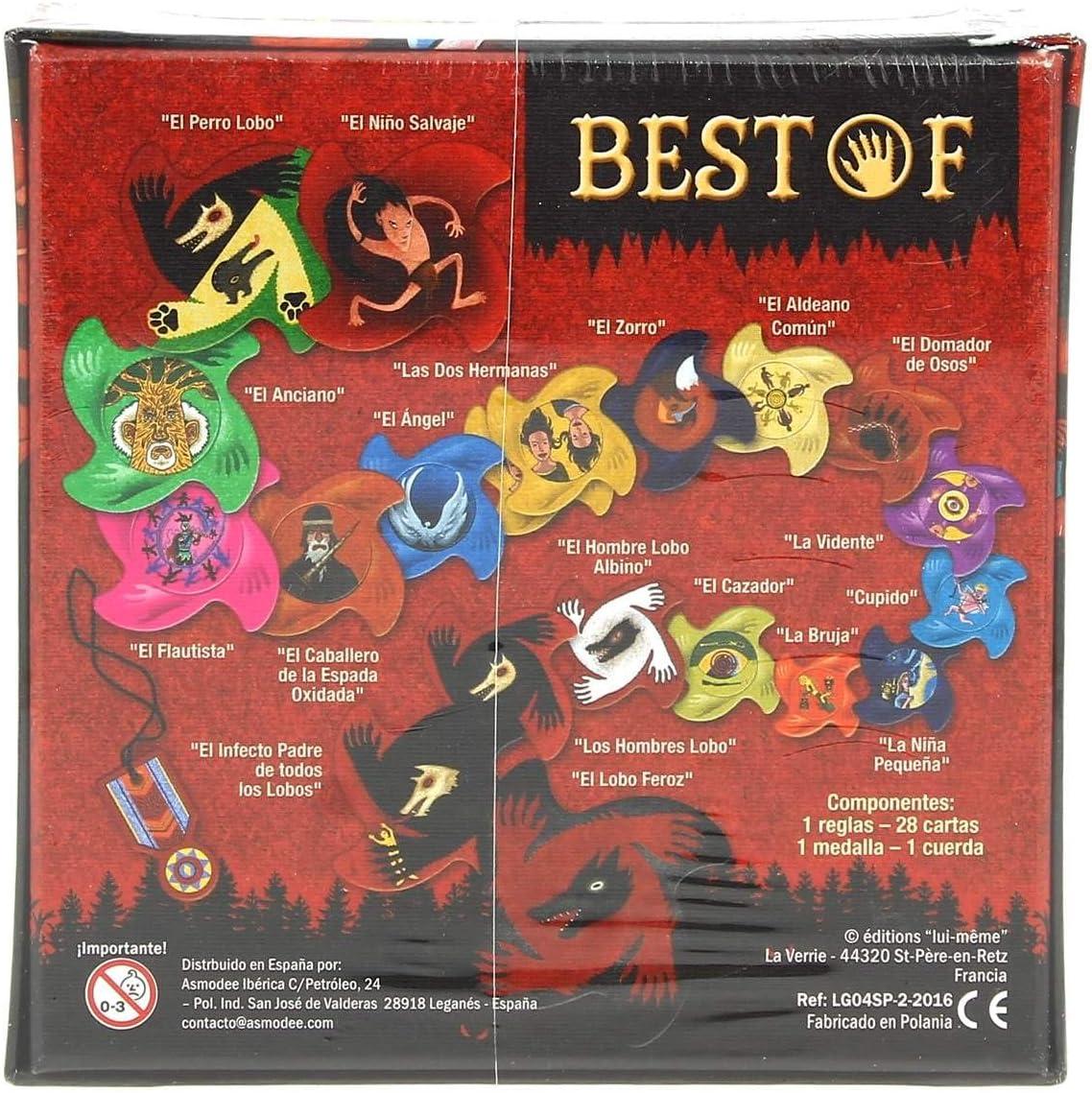 Asmodee-Los Hombres Lobo de Castronegro: Best of-Español (LOB06ES ...