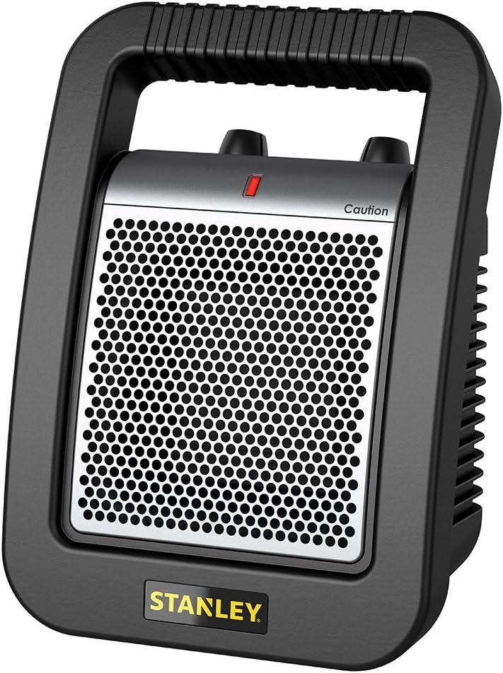 Lasko 675945 Stanley Ceramic Utility Heater, 12-Inch