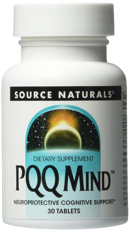 SOURCE NATURALS Pqq Mind Tablet, 30 Count