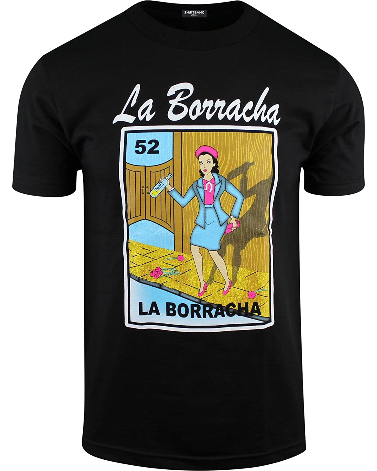 men s borracho loteria funny drinking shirt lovely
