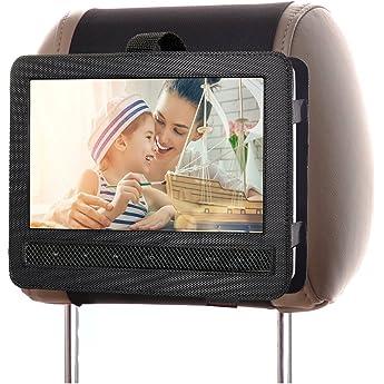 Zuggear Dvd Player Headrest Mount Holder Portable Dvd Player Mount Car Back Seat Headrest Holder For Swivel Flip Portable Dvd Player 10 Inch To10 5 Inch Amazon Sg Electronics