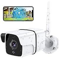 $29 » Security Camera Outdoor, Yamla 1080P WiFi Home Security Surveillance Camera Works with Alexa,…
