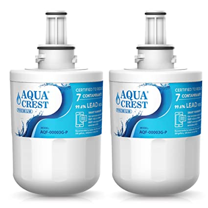 AQUACREST DA29-00003G Refrigerator Water Filter, NSF 53&42 Certified to  Reduce 99% Lead, Compatible with Samsung DA29-00003G, DA29-00003B,