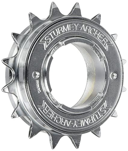 "1 Single-Speed Freewheel Ritzel 1//2 x 3//32 /"" Mit 16//17//18 Zähne"