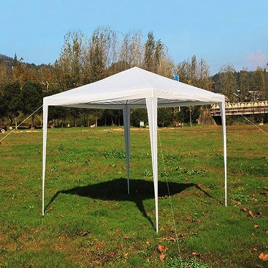 Tumdem Toldo Impermeable para Fiestas y Bodas, toldo de 3 x 3 m, toldo Universal para Exteriores, toldo para jardín, Refugio Solar: Amazon.es: Jardín