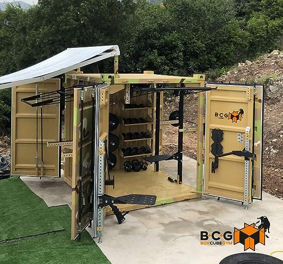 Grupo Contact Box Cube Gym, contenedor con Gimnasio Completo ...