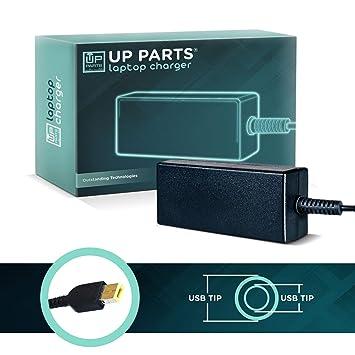 UP PARTS® NBP32 - Adaptador 65 W 20 V 3,25 A para Lenovo ...