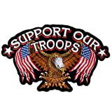 Hot Leathers Support Our Troops Patch
