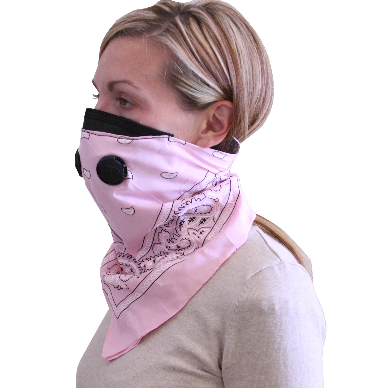 Bandana Style Dust Mask Pnk by ATV Tek