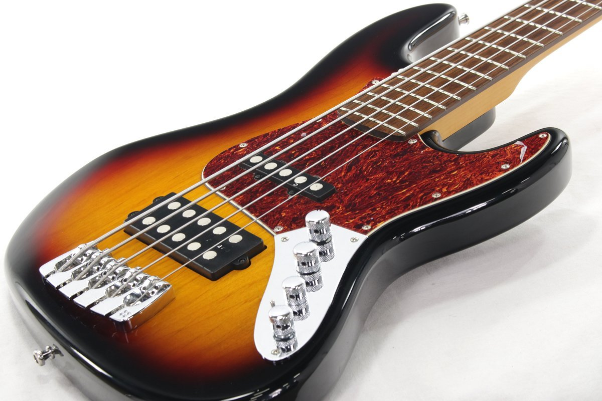 SANDBERG/California TM 5-string 3-tone sunburst サンドバーグ B07DBNKL9K
