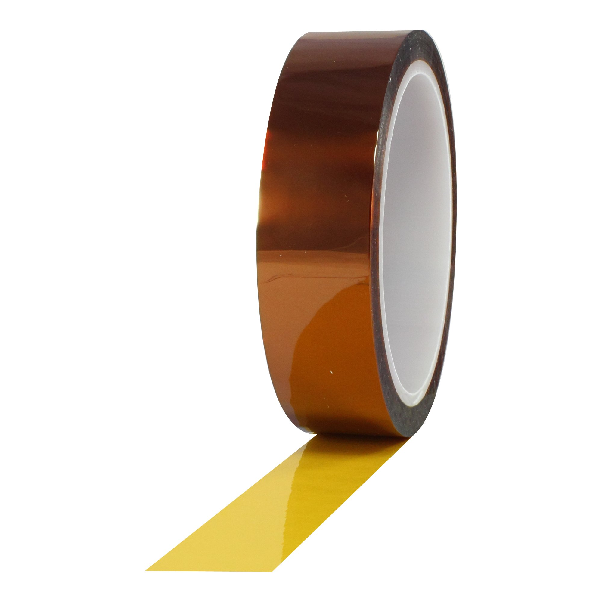 ProTapes Pro 950 Polyimide Film Tape, 7500V Dielectric Strength, 36 yds Length x 1/2'' Width (Pack of 1)