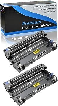 2x DR620 DR-620 Drum Cartridge for  TN650 TN620