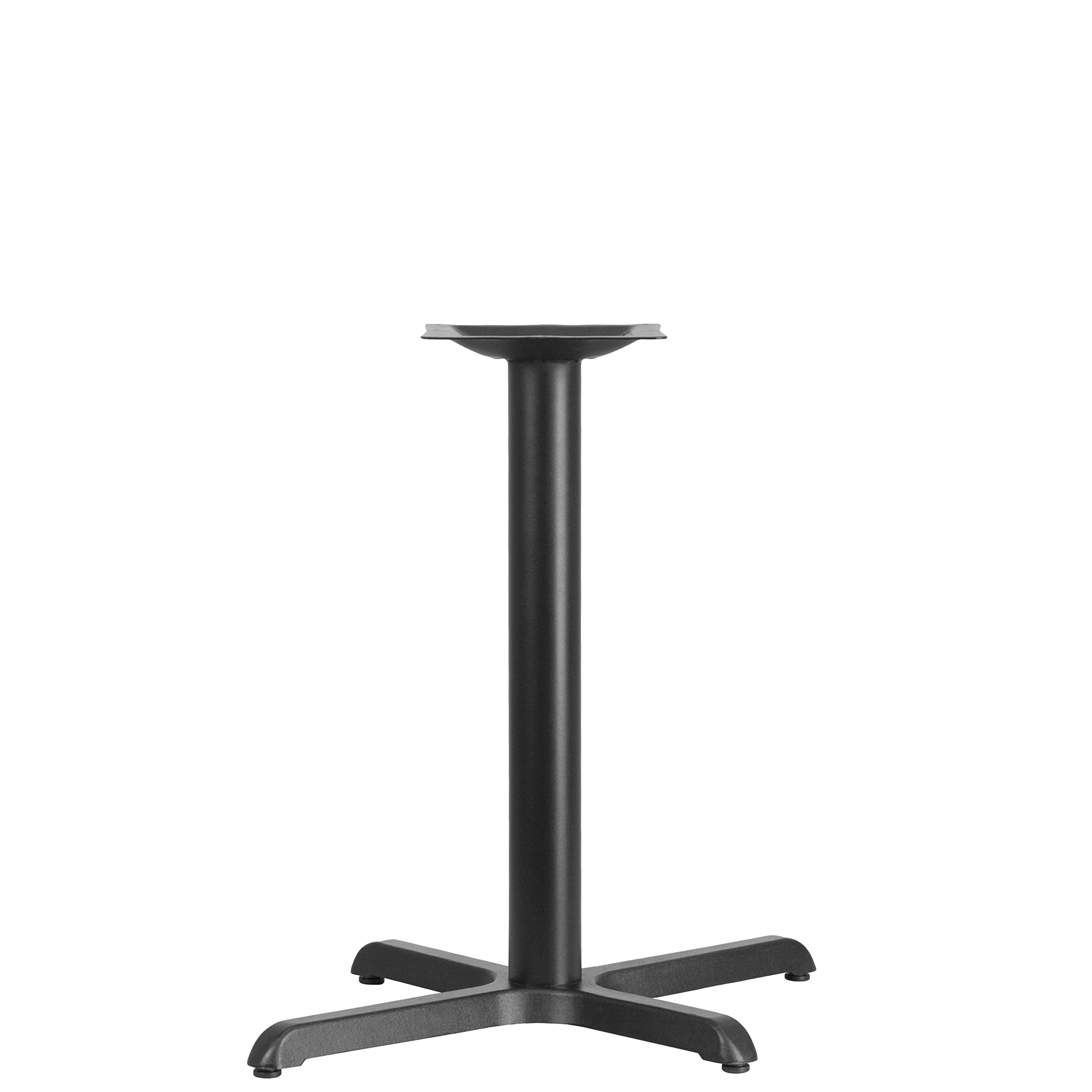 Flash Furniture 22'' x 30'' Restaurant Table X-Base with 3'' Dia. Table Height Column by Flash Furniture