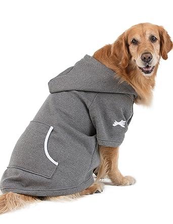 Footed Pajamas Doogie Joggies - Charcoal Gray Pet Hoodie