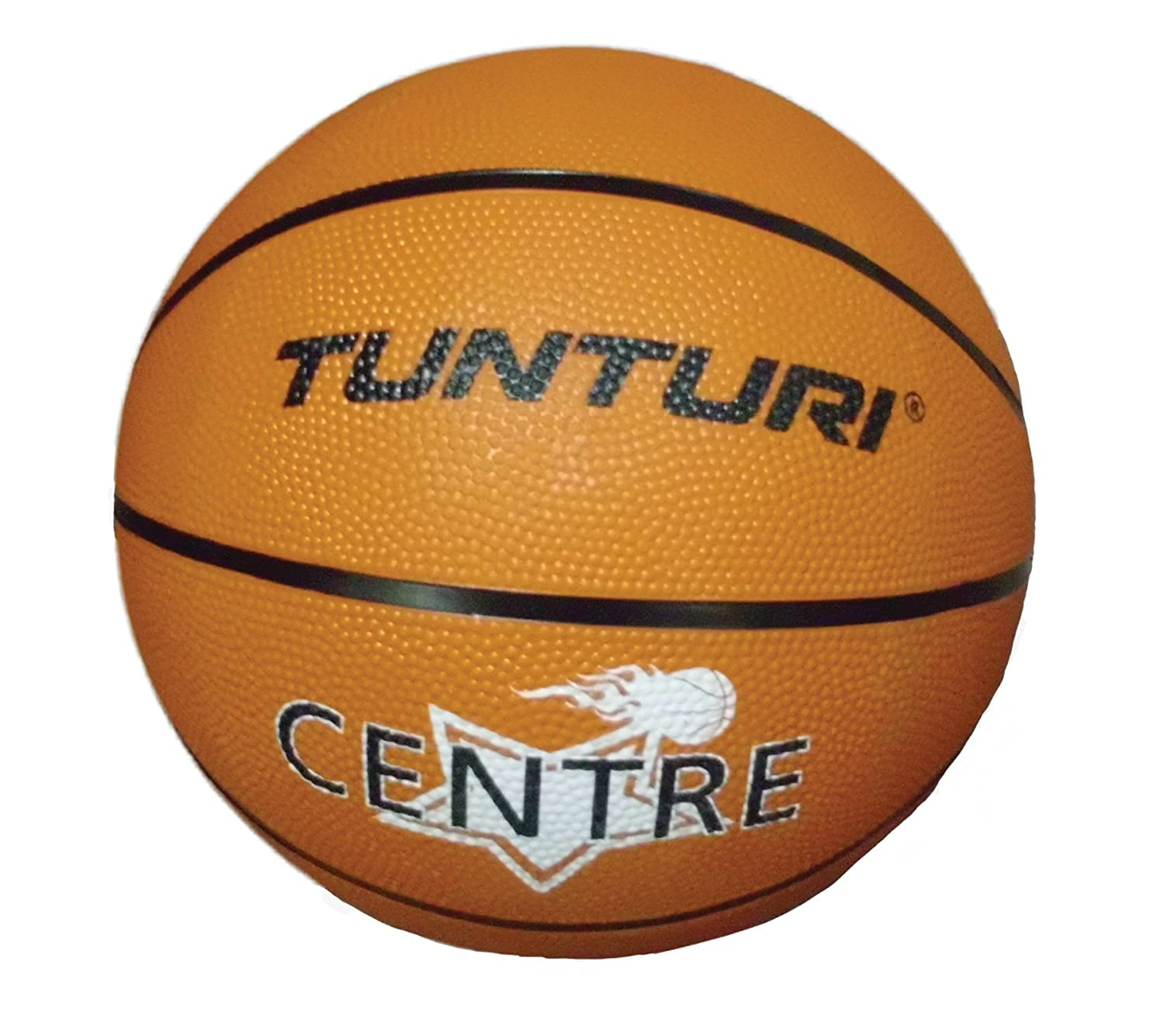 Tunturi 14TUSTE066 Ballon de Basket Mixte Adulte, Orange, 1 TUNTD|#Tunturi