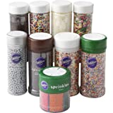 Wilton Sprinkle on the Fun Rainbow Sprinkles Set, 6-Piece