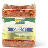 Mother Earth Products Dried Carrots, Quart Jar