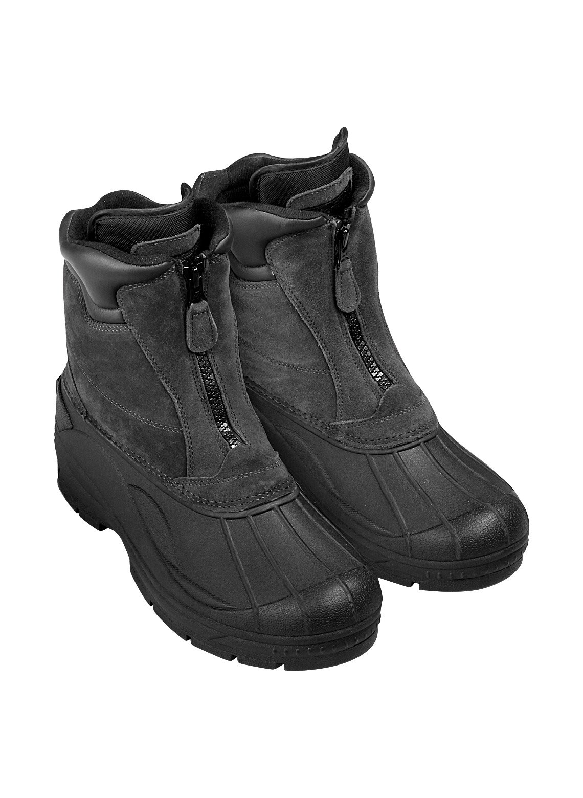 Totes Weather-Resistant Boot, Black, Size 10