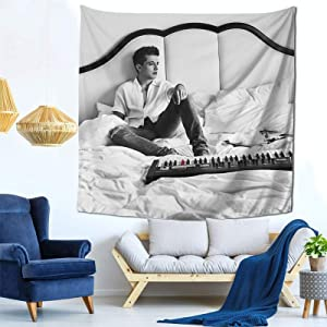 Charlie Puth Voicenotes Tapestry Mural Wall Hanging Decor for Bedroom Living Room Dormitory Apartment Tapestry 59 X 59 Inch