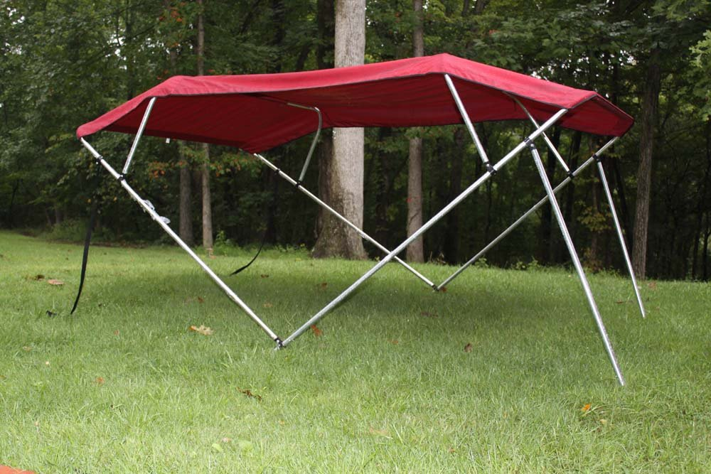 boat awning kit tops suncolors top twin detail x pontoon asp sunbrella pc viewprd complete bimini