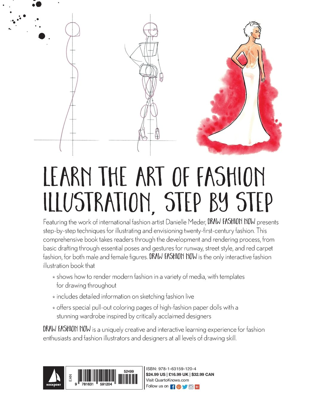 Draw Fashion Now Techniques Inspiration And Ideas For Illustrating And Imagining Your Designs With Fashion Paper Dolls And A Customizable Designer Inspired Wardrobe Meder Danielle 9781631591204 Amazon Com Books