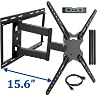 JUSTSTONE Full Motion TV Wall Mount Bracket with Articulating Arms