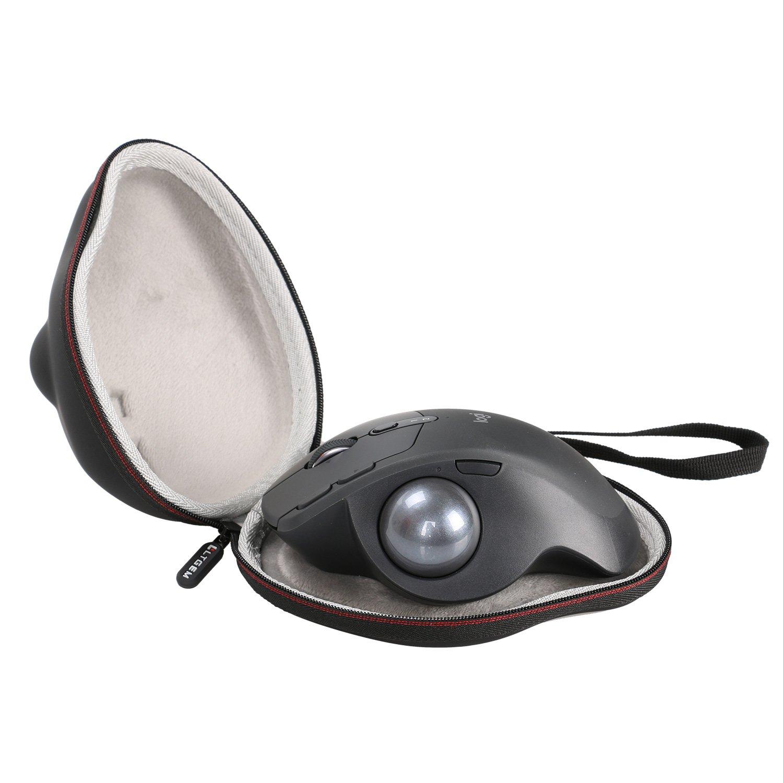 LTGEM for Logitech 910-005177 MX Ergo Advanced Wireless Trackball Case Travel Protective Carrying Storage Bag CS162CA
