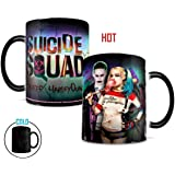 Morphing Mugs Suicide Squad The Joker and Harley Quinn Heat Reveal Ceramic Coffee Mug - 11 Ounce