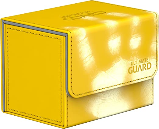 76 x 98.5 x 49.9 mm Ultimate Guard Unisexs UGD010891 Deck Case Ruby