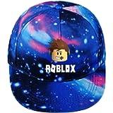 KK-Jim Unisex Roblox Baseball Cap Galaxy Printed Adjustable Mesh Cap for Kids