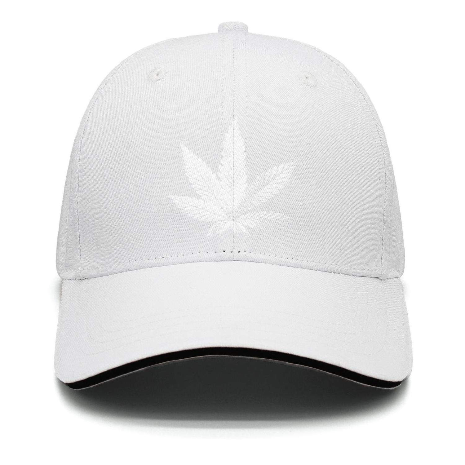 Golf Hat Adjustable Marijuana Cannabis Leaf Logo Unisex Snapback All Low Profile