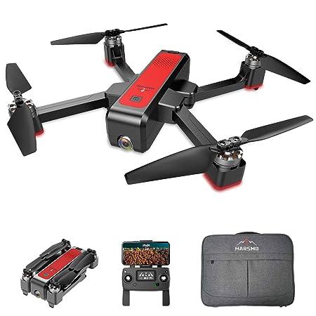 MARSMO B4W WiFi FPV Drone con cámara Ajustable en Vivo de 2K 3 ...