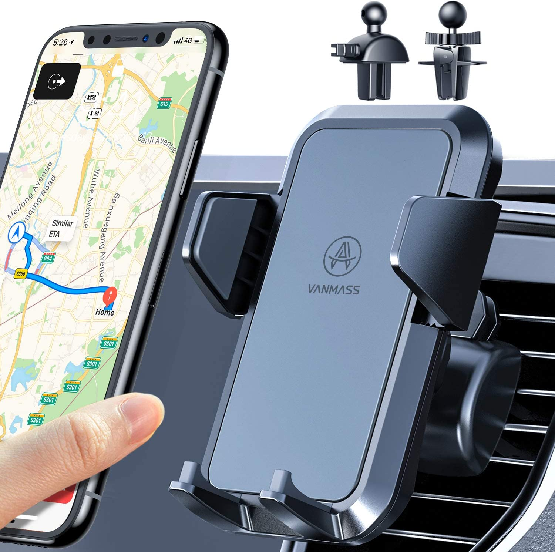 Vanmass Handyhalterung Auto Lüftung 2021 Handy Elektronik