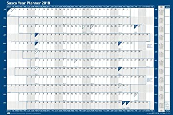 2018 yearly planner