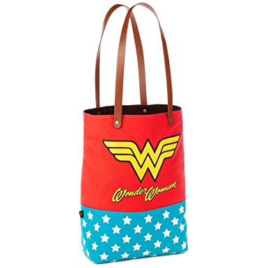 Amazon.com  Hallmark WONDER WOMAN Tote Bag  Clothing 0a3983be10f