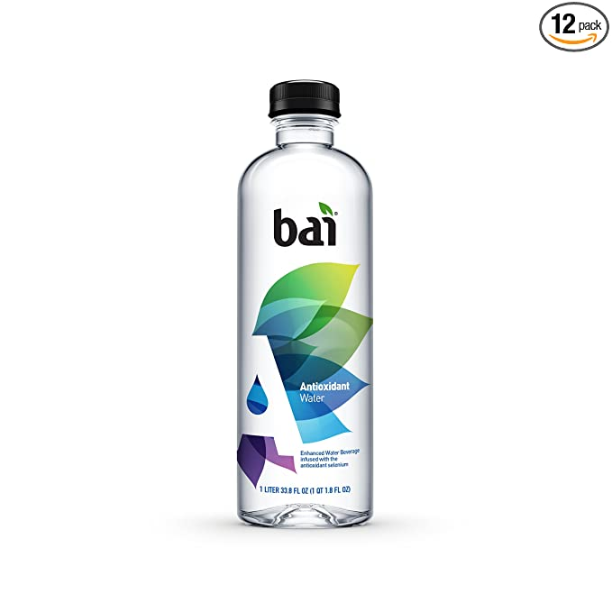 Bai Antioxidant Water, Alkaline Water, Infused with the Antioxidant Mineral Selenium, Purified Water with Electrolytes