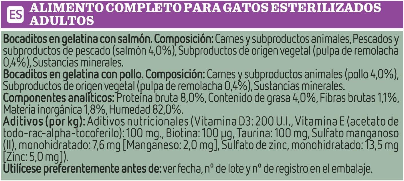 Ultima Cibo Umido per Gatti Sterilizzati 3.4 kg